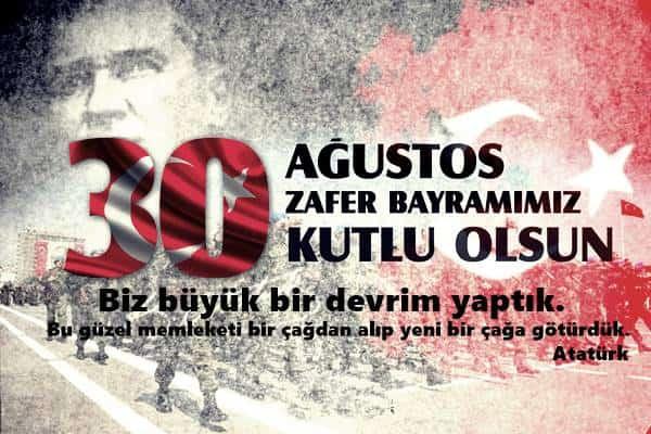 biz büyük bir devrim yaptık - Zafer Bayramı Sözleri - Resimli 30 Ağustos Zafer Bayramı Mesajları, ozel-gunler-sozleri