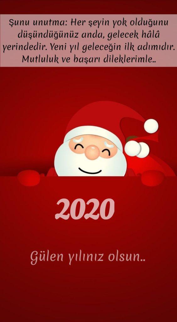 Şunu unutma her şeyin yok olduğunu düşündüğünüz anda gelecek hala yerindedir - 2020 Resimli Yeni Yıl Mesajları - 2020 Yeni Yıl Mesajları, guzel-sozler
