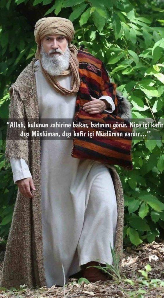 Allah kulunun zahirine bakar batınını görür.Nice içi kafir dışı müslümandışı kafir içi müslüman vardır 564x1024 - Diriliş Ertuğrul Sözleri - Diriliş Ertuğrul Resimli Sözleri, guzel-sozler