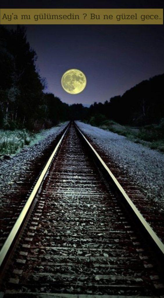 Aya mı gülümsedin. Bu ne güzel gece 564x1024 - Resimli Aşk Sözleri - En Yeni Aşk Sözleri, guzel-sozler