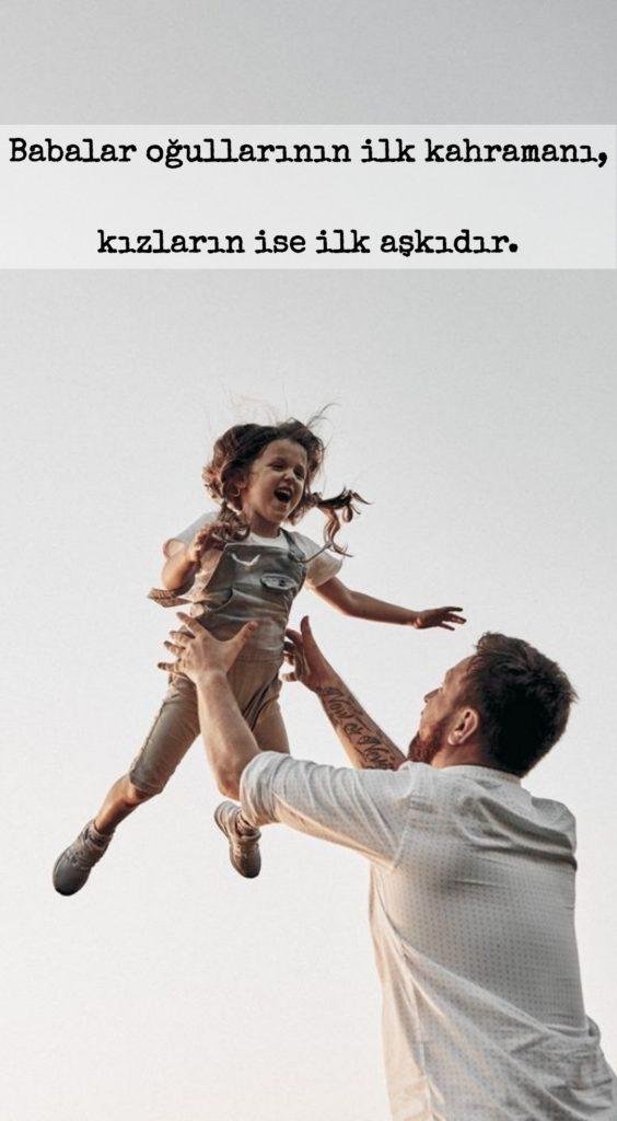 Babalar oğullarının ilk kahramanı kızların ise ilk aşkıdır 564x1024 - Baba İle İlgili Resimli Sözler - En Yeni Baba İle ilgili Sözler, guzel-sozler