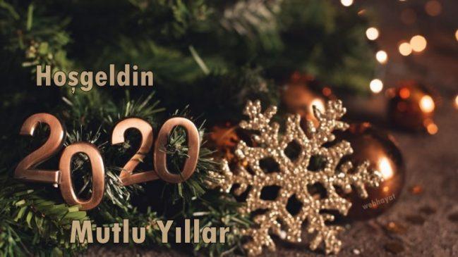 Hoşgeldin 2020 mutlu yıllar - 2020 Resimli Yeni Yıl Mesajları - 2020 Yeni Yıl Mesajları, guzel-sozler