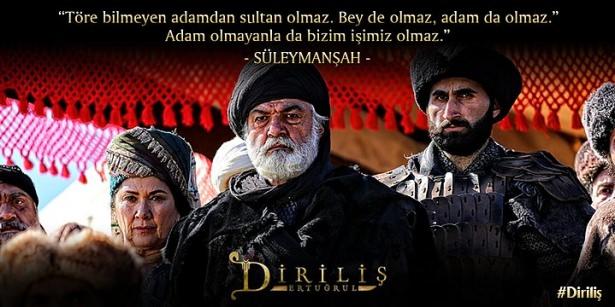 Töre bilmeyen adamdan sultan olmaz bey de olmaz adam da olmaz adam olmayanla da bizim işimiz olmaz - Diriliş Ertuğrul Sözleri - Diriliş Ertuğrul Resimli Sözleri, guzel-sozler