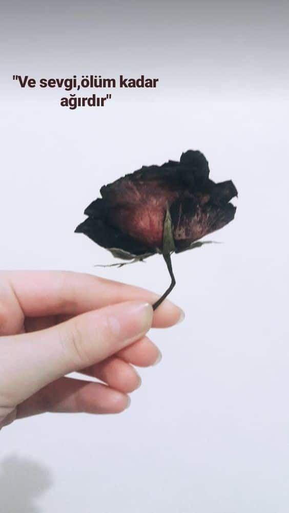 Ve sevgi ölüm kadar ağırdır - Resimli Aşk Sözleri - En Yeni Aşk Sözleri, guzel-sozler