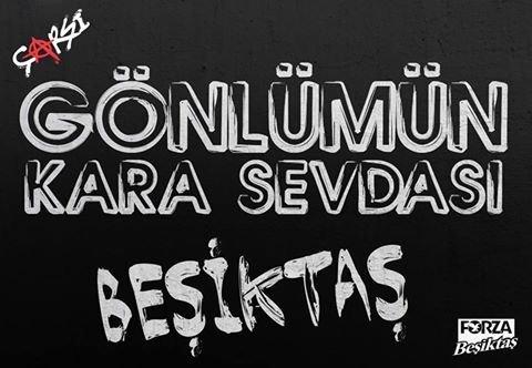 Gönlüm - Beşiktaş İle İlgili Resimli Sözler - Beşiktaş Sözleri Ve Kareografileri, resimli-sozler