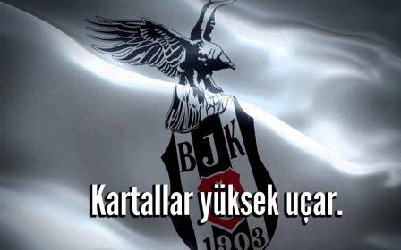 Kartallar yüksek uçar - Beşiktaş İle İlgili Resimli Sözler - Beşiktaş Sözleri Ve Kareografileri, resimli-sozler