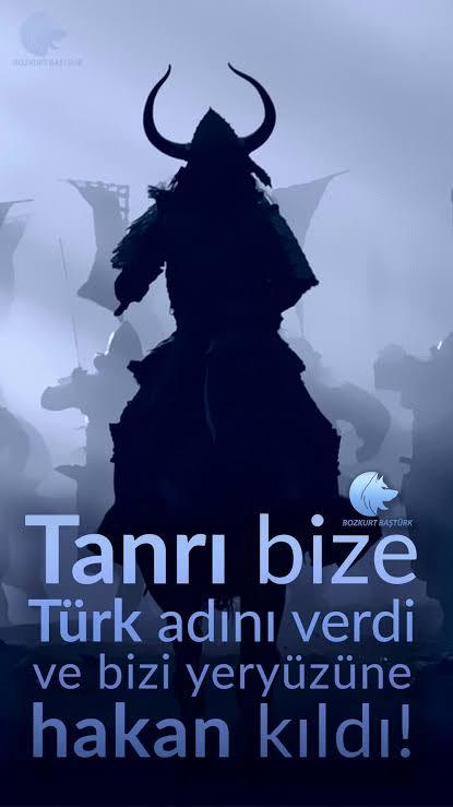 Tanrı bize Türk adını verdi ve bizi yeryüzüne hakan kıldı - Ülkücü İle İlgili Resimli Sözler - Ülkücü Sözleri, Milliyetçilik, Türk Sözleri, resimli-sozler, populer-sozler, mesajlar, anlamli-sozler