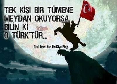 Tek kişi bir tümene meydan okuyorsa bilin ki o Türktür - Ülkücü İle İlgili Resimli Sözler - Ülkücü Sözleri, Milliyetçilik, Türk Sözleri, resimli-sozler, populer-sozler, mesajlar, anlamli-sozler