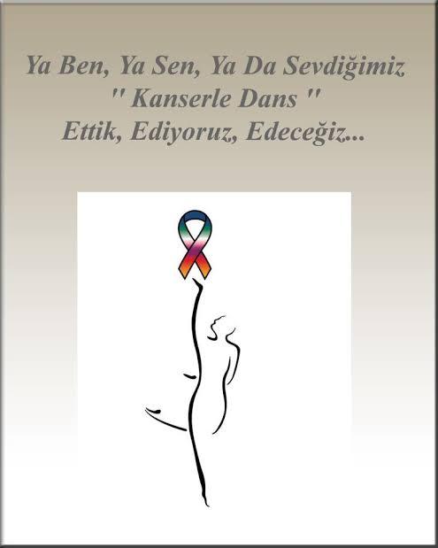 Ya ben ya sen ya da sevdiğimiz kanserle dans ettik ediyoruz edeceğiz - Kanser İle İlgili Resimli Sözler - 4 Şubat Dünya Kanser Günü, resimli-sozler, mesajlar, anlamli-sozler