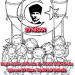23 Nisan Şiirleri, 23 Nisan Çocuk Bayramı Resimli Şiirler  12