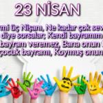 23 Nisan Şiirleri, 23 Nisan Çocuk Bayramı Resimli Şiirler  13