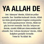 Allah İle İlgili Resimli Sözler – Allah Aşkı, Sevgisi, Korkusu İle İlgili Sözler – 11