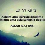Allah İle İlgili Resimli Sözler – Allah Aşkı, Sevgisi, Korkusu İle İlgili Sözler – 28