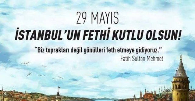 İstanbulun Fethi İle İlgili Resimli Sözler Kutlama Mesajları 11 - İstanbul'un Fethi İle İlgili Resimli Sözler, Mesajlar - 1453 İstanbul Fethi, resimli-sozler