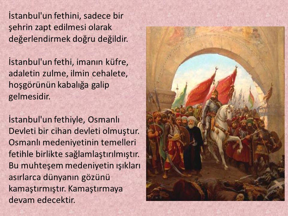 İstanbulun Fethi İle İlgili Resimli Sözler Kutlama Mesajları 16 - İstanbul'un Fethi İle İlgili Resimli Sözler, Mesajlar - 1453 İstanbul Fethi, resimli-sozler