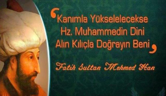 İstanbulun Fethi İle İlgili Resimli Sözler Kutlama Mesajları 3 - İstanbul'un Fethi İle İlgili Resimli Sözler, Mesajlar - 1453 İstanbul Fethi, resimli-sozler