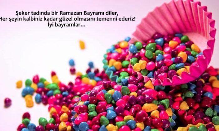 Şeker tadında bir Ramazan Bayramı diler her şeyin kalbiniz kadar güzel olmasını temenni ederiz. - Ramazan Bayramı İle İlgili Resimli Kutlama Mesajları Ve Sözleri, resimli-sozler