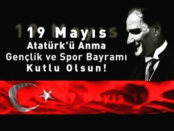 19 Mayıs İle İlgili Resimli Sözler Kutlama Mesajları 19 Mayıs Atatürkü Anma Gençlik Ve Spor Bayramı 29 - 19 Mayıs İle İlgili Resimli Sözler, Kutlama Mesajları - 19 Mayıs Sözleri, resimli-sozler, guzel-sozler
