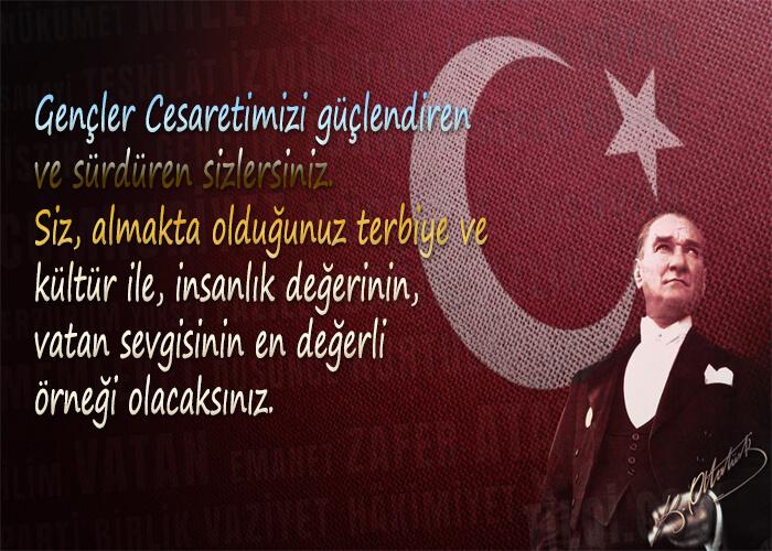 19 Mayıs İle İlgili Resimli Sözler Kutlama Mesajları 19 Mayıs Atatürkü Anma Gençlik Ve Spor Bayramı 30 - 19 Mayıs İle İlgili Resimli Sözler, Kutlama Mesajları - 19 Mayıs Sözleri, resimli-sozler, guzel-sozler