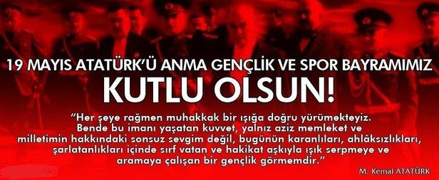 19 Mayıs İle İlgili Resimli Sözler Kutlama Mesajları 19 Mayıs Atatürkü Anma Gençlik Ve Spor Bayramı 36 - 19 Mayıs İle İlgili Resimli Sözler, Kutlama Mesajları - 19 Mayıs Sözleri, resimli-sozler, guzel-sozler