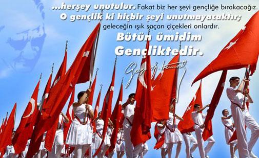 19 Mayıs İle İlgili Resimli Sözler Kutlama Mesajları 19 Mayıs Atatürkü Anma Gençlik Ve Spor Bayramı 40 - 19 Mayıs İle İlgili Resimli Sözler, Kutlama Mesajları - 19 Mayıs Sözleri, resimli-sozler, guzel-sozler