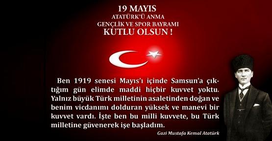 19 Mayıs İle İlgili Resimli Sözler Kutlama Mesajları 19 Mayıs Atatürkü Anma Gençlik Ve Spor Bayramı 43 - 19 Mayıs İle İlgili Resimli Sözler, Kutlama Mesajları - 19 Mayıs Sözleri, resimli-sozler, guzel-sozler