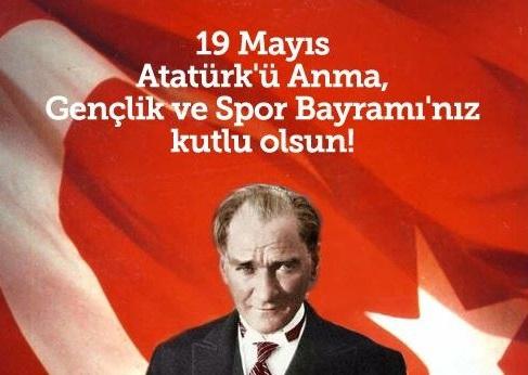 19 Mayıs İle İlgili Resimli Sözler Kutlama Mesajları 19 Mayıs Atatürkü Anma Gençlik Ve Spor Bayramı 45 - 19 Mayıs İle İlgili Resimli Sözler, Kutlama Mesajları - 19 Mayıs Sözleri, resimli-sozler, guzel-sozler