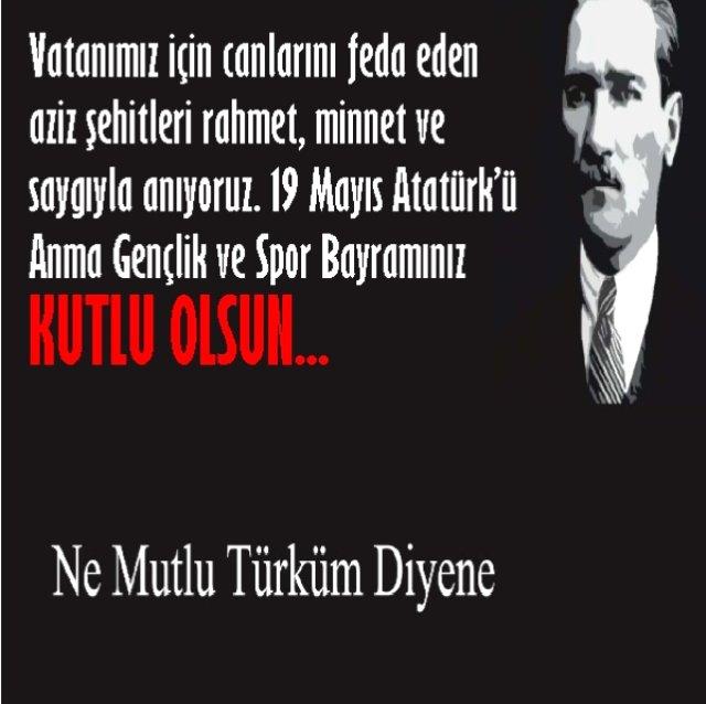 19 Mayıs İle İlgili Resimli Sözler Kutlama Mesajları 19 Mayıs Atatürkü Anma Gençlik Ve Spor Bayramı 6 - 19 Mayıs İle İlgili Resimli Sözler, Kutlama Mesajları - 19 Mayıs Sözleri, resimli-sozler, guzel-sozler
