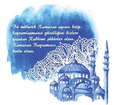 Bu Mübarek Ramazan ayının bitip bayramlaşmanın güzelliğini bizlere yaşatan Rabbime şükürler olsun. - Ramazan Bayramı İle İlgili Resimli Kutlama Mesajları Ve Sözleri, resimli-sozler