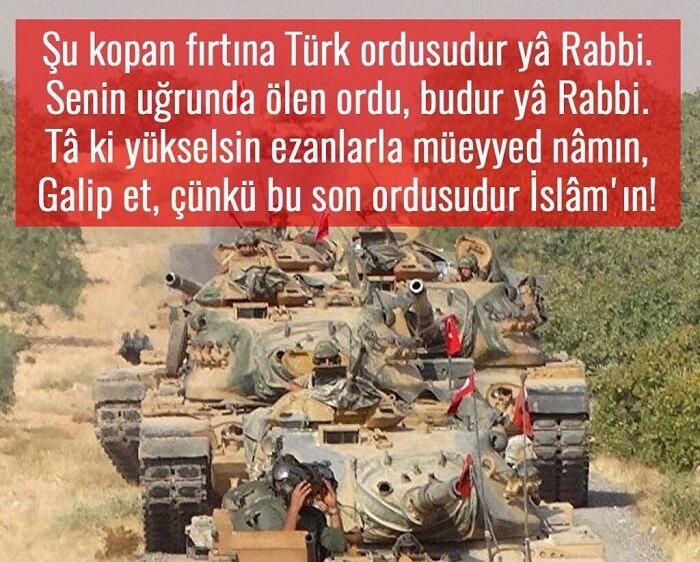 Şu kopan fırtına Türk ordusudur ya Rabbi. Senin uğrunda ölen ordu budur ya Rabbi... Türk Ordusu İle İlgili Resimli Sözler - Türk Ordusu İle İlgili Resimli Sözler - Türk Ordusu İle İlgili Sözler, resimli-sozler