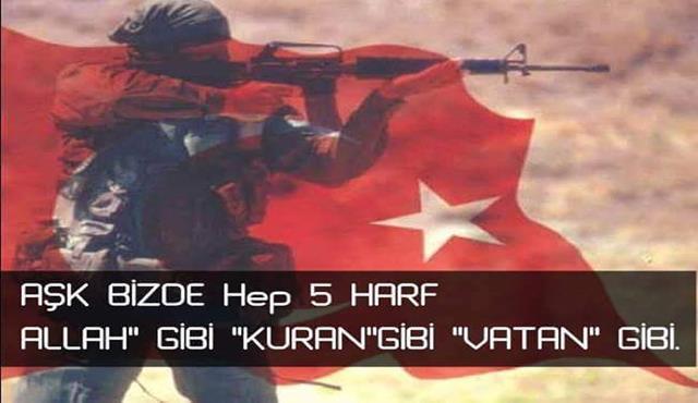 Aşk bizde hep beş harf.. Allah gibi Kuran gib Vatan gibi.. Türk Ordusu İle İlgili Resimli Sözler - Türk Ordusu İle İlgili Resimli Sözler - Türk Ordusu İle İlgili Sözler, resimli-sozler