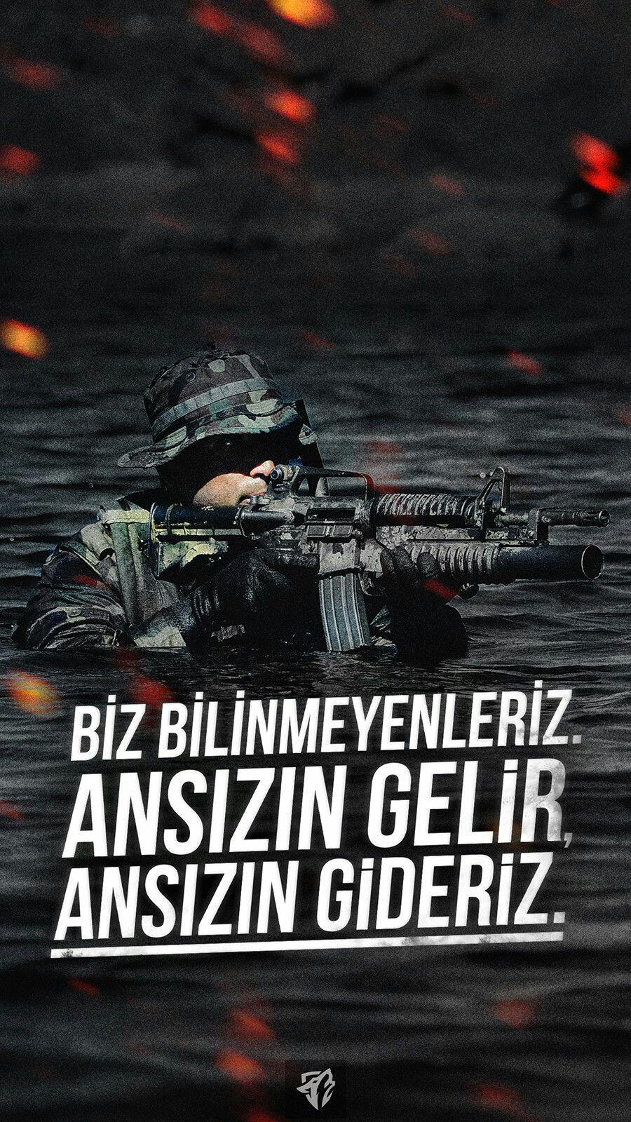 Biz bilinmeyenleriz. Ansızın gelir ansızın gideriz. Türk Ordusu İle İlgili Resimli Sözler - Türk Ordusu İle İlgili Resimli Sözler - Türk Ordusu İle İlgili Sözler, resimli-sozler